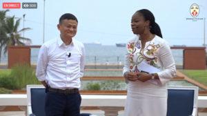 Jack Ma au Togo et a Lomé