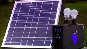 kit solaire CIZO de la societe BBOXX