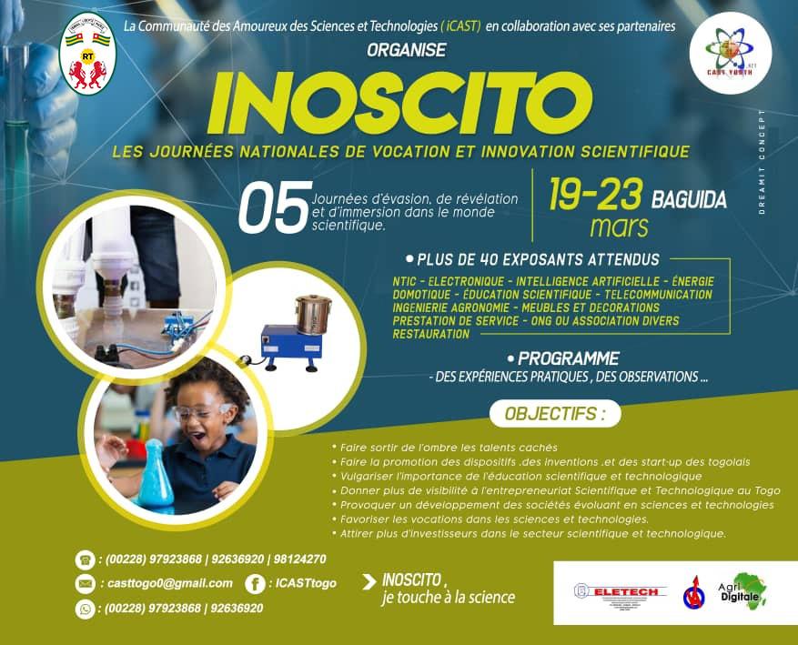 Foire scientifique et technologique INOSCITO à Baguida Lomé-Togo