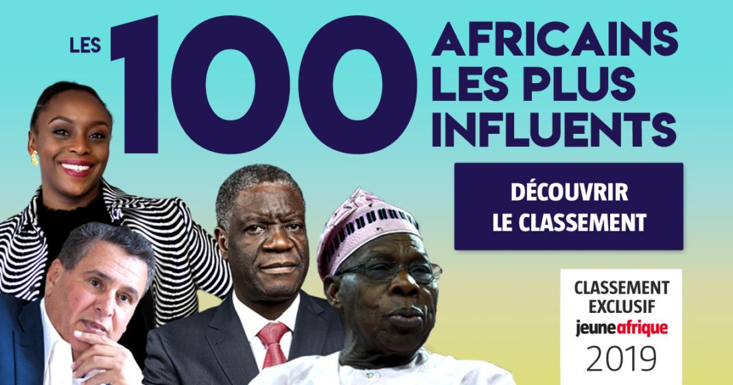 classement jeune afrique 100 personnalites influentes